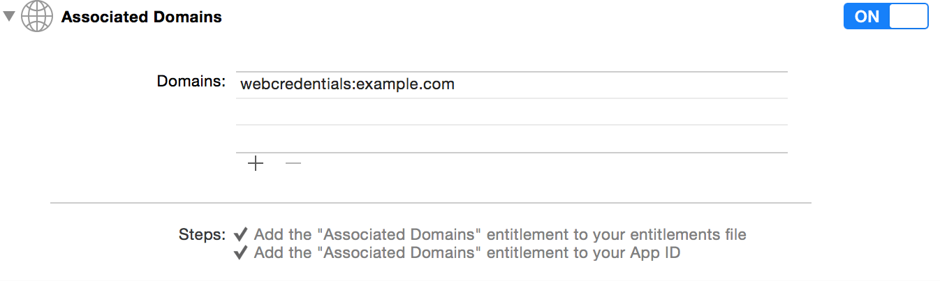 apple app site association. Adding The Associated Domains For Your App Apple Site Association Developer