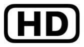The letters H D, inside a black rectangle with rounded corners.