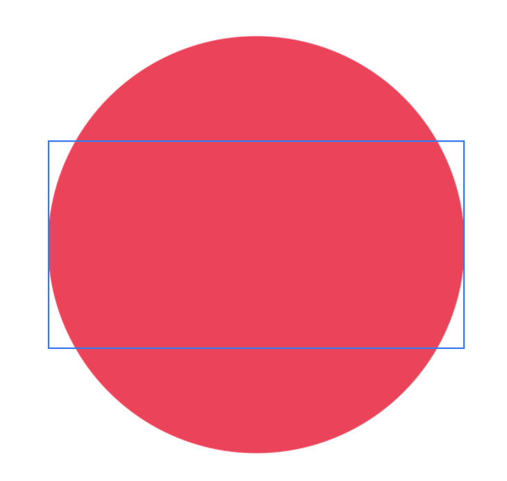 A screenshot of pink circle scaled to fill its frame.