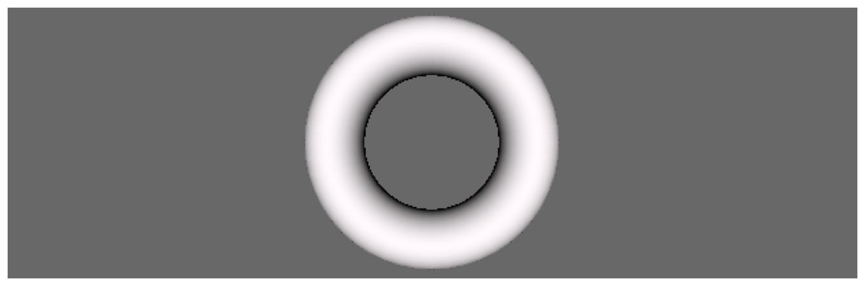 SceneKit torus rendered in SpriteKit