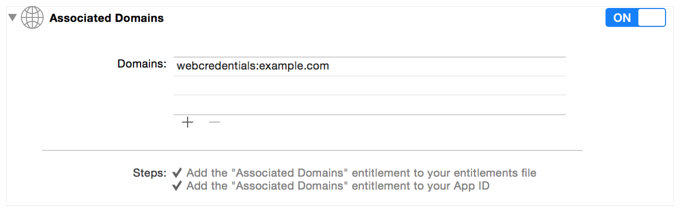 apple app site association. Adding The Associated Domains For Your App Apple Site Association T