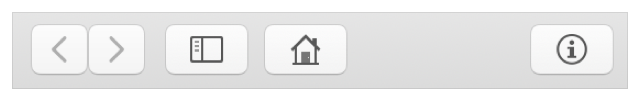 Toolbar items in Safari