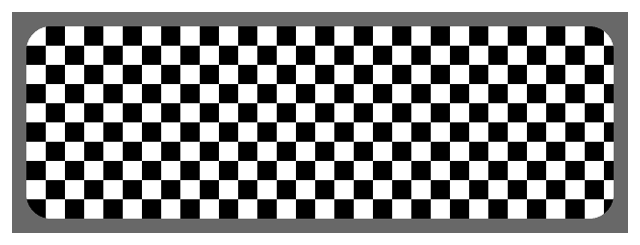 Shape node with checkerboard fill