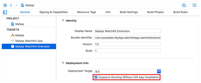 Creating Independent watchOS Apps | Apple Developer