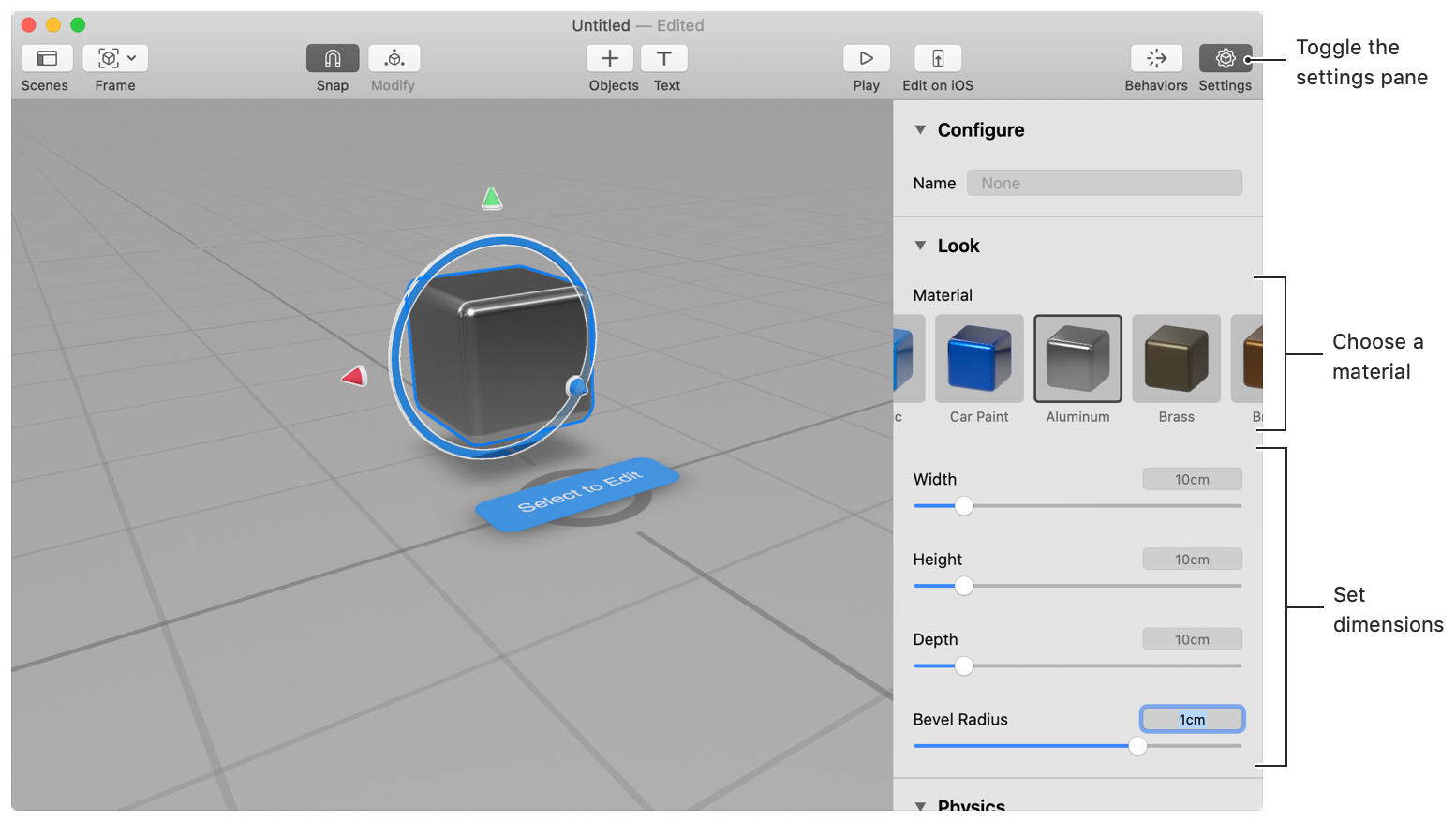 Creating 3D Content with Reality Composer | Apple Developer