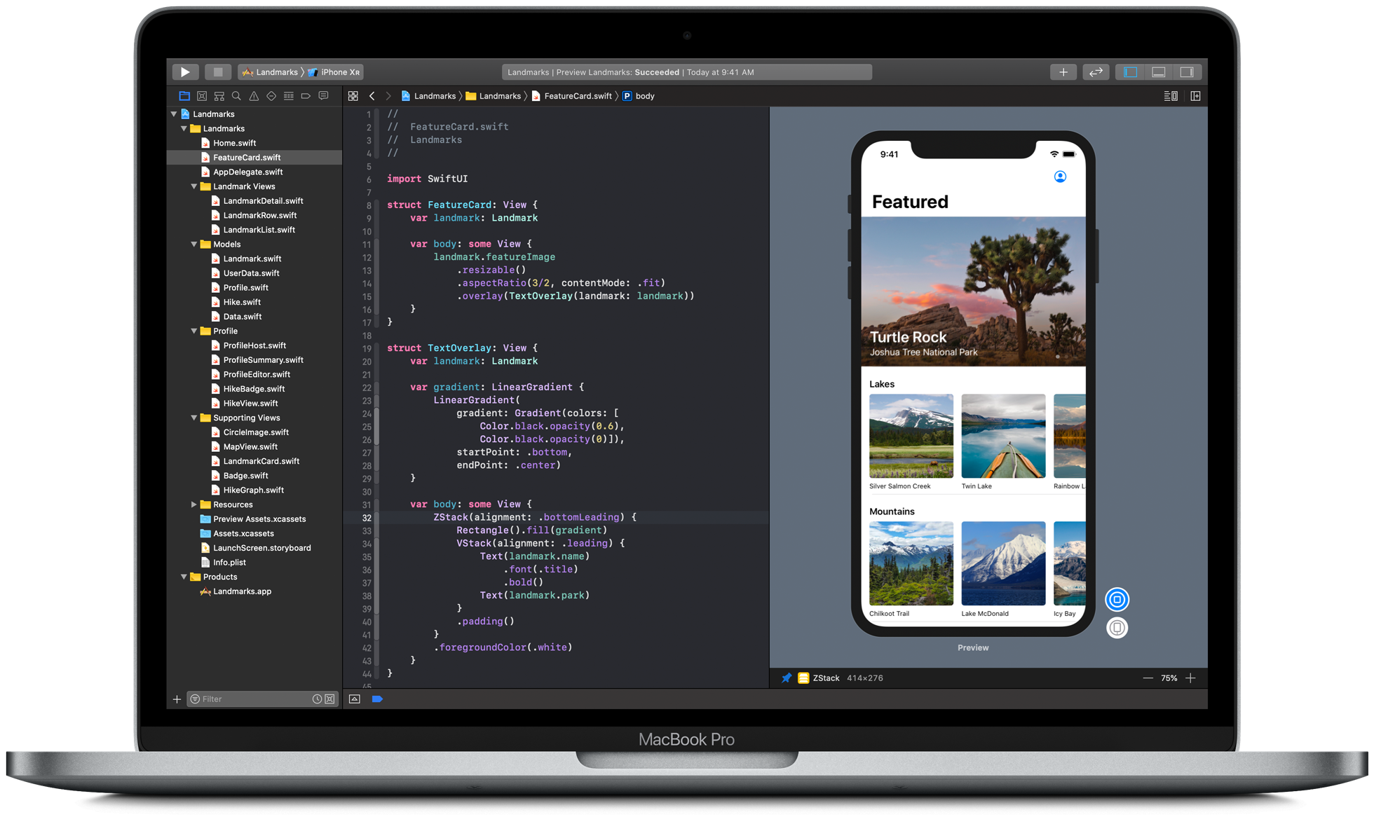 SwiftUI Tutorials | Apple Developer Documentation