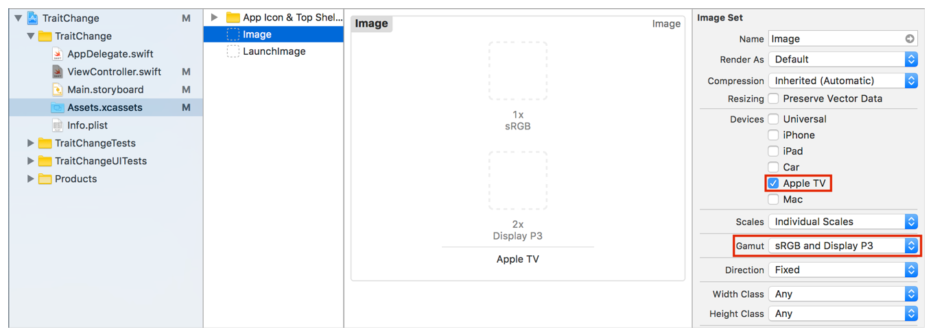 Responding to Changing Display Modes on Apple TV   Apple