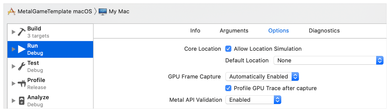 Enabling Frame Capture | Apple Developer Documentation